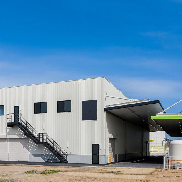 H29・5 太田油脂株式会社 包装品置場・資材倉庫(岡崎市):工場・倉庫
