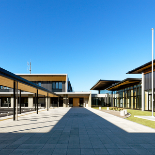 H29・12 岡崎市額田センター こもれびかん(岡崎市):公共施設・学校