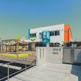 H31・2 碧のうさぎ保育園(碧南市):公共施設・学校