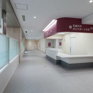 R2・4 岡崎市民病院再編改修:外来診療室拡張建築改修(岡崎市):公共施設・学校・寺社